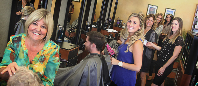 Hair Stylists at Blade Salon